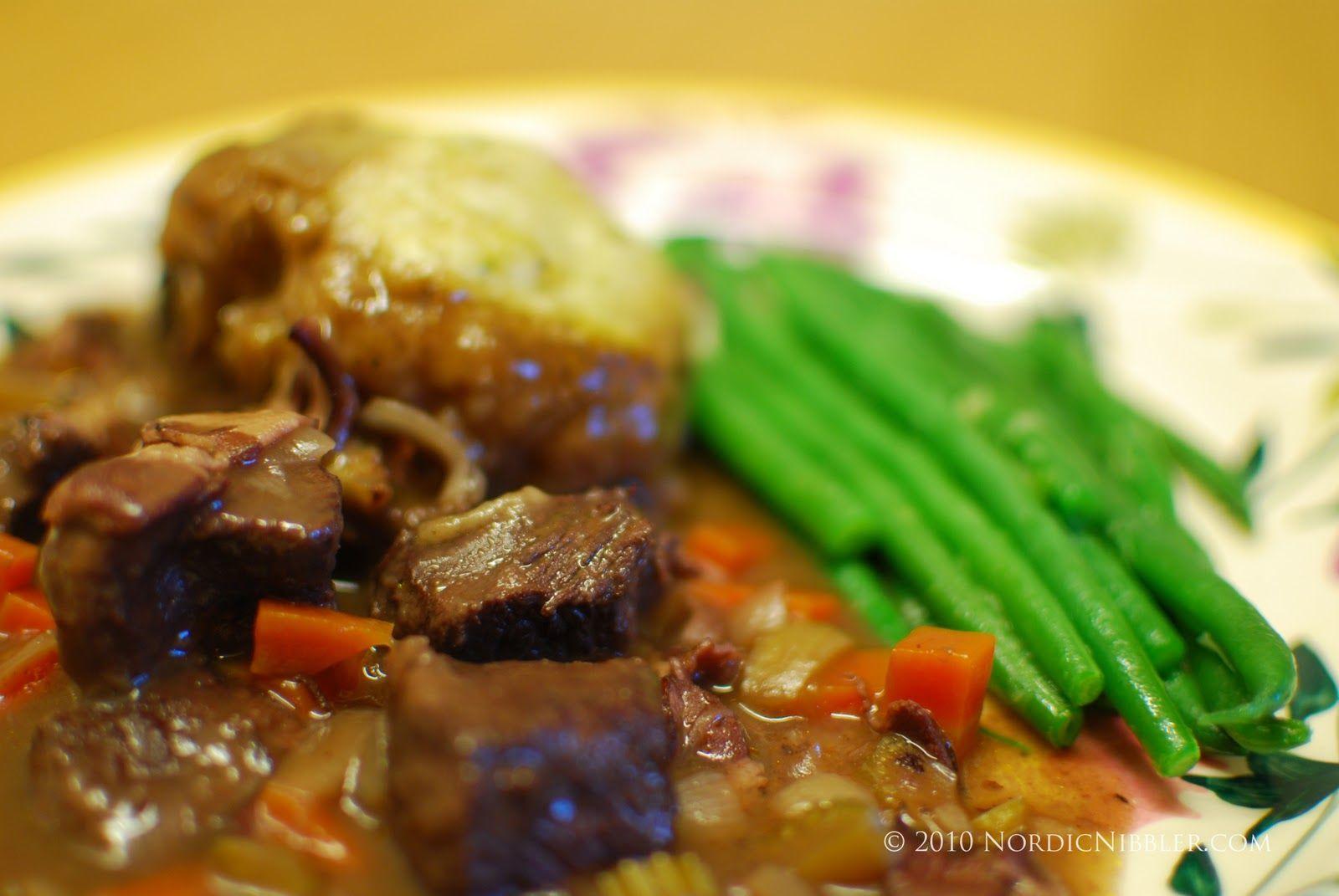 Nordic Nibbler: Reindeer Stew (Reinsdyrgryte) with Thyme Dumplings – Recipe