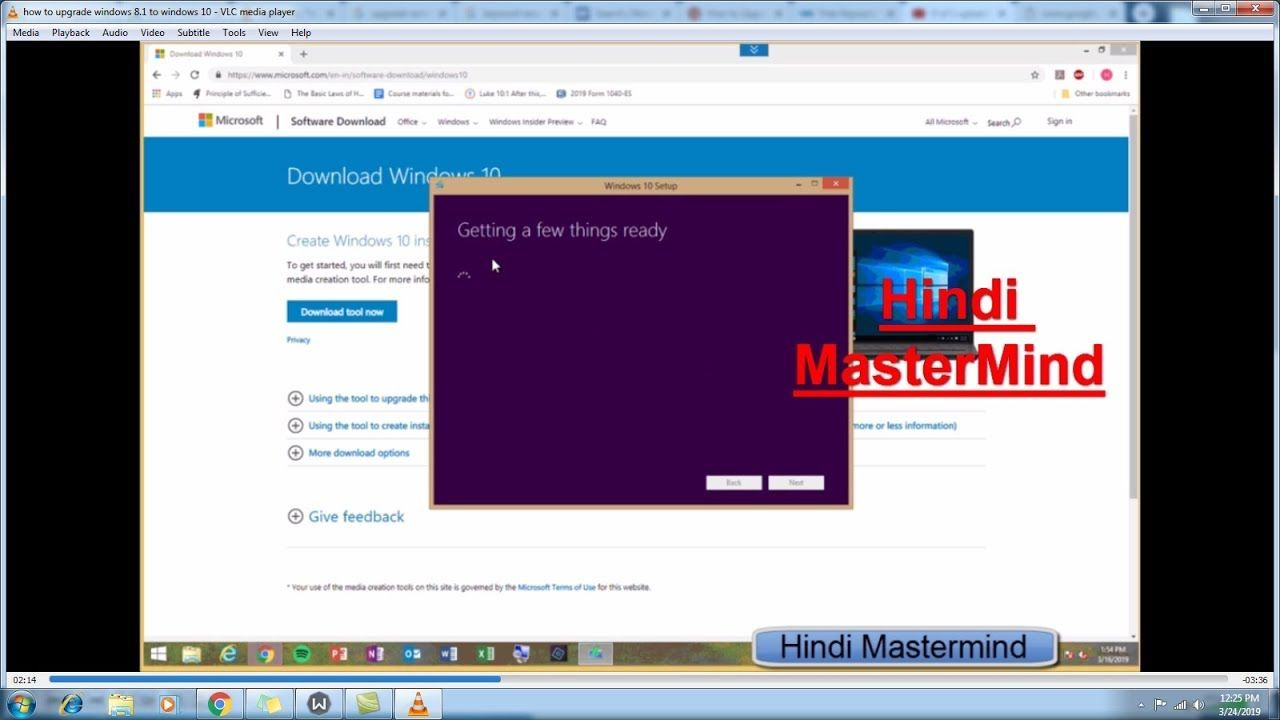 how to upgrade windows 8 1 to windows 10 || upgrade windows 8 to