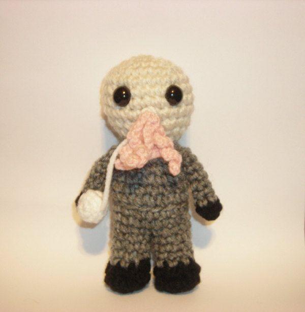 Doctor Who Mini Ood amigurumi. $16.00, via Etsy. | Dr. Who ...