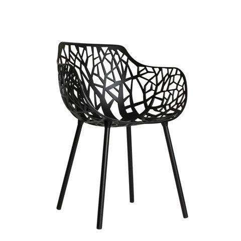 CASANOVA Møbler — Fastdesign - Forest armstole - Sort