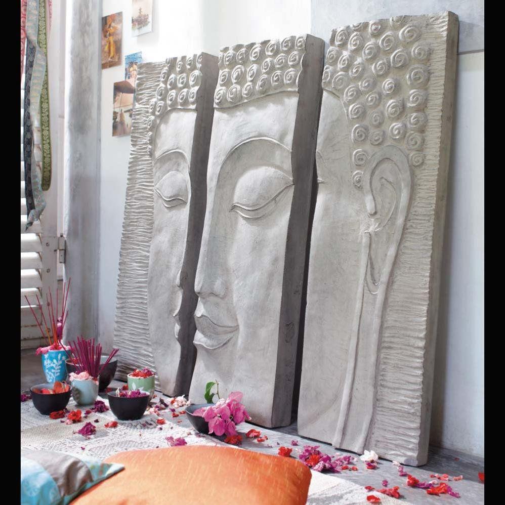 Triptyque Bouddha Pretty Little Bouddhas Decor Home Decor Et