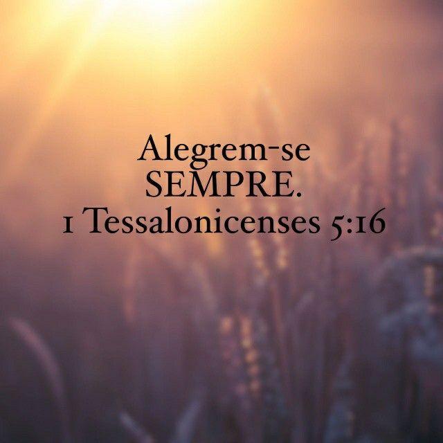 I Ts 5:16