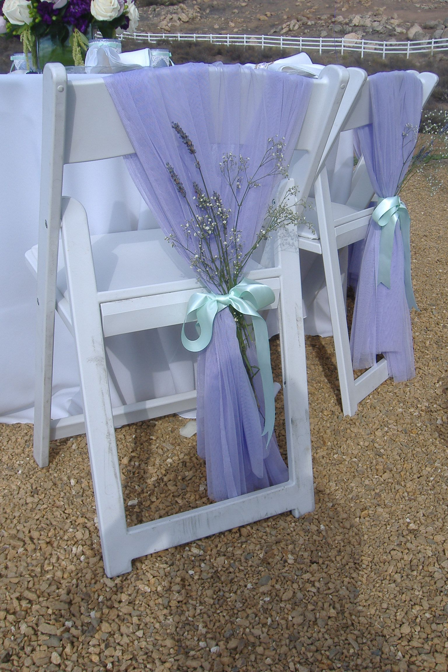 mint chair sashes table and chairs rental lavender wedding with chiffon baby 39s breath