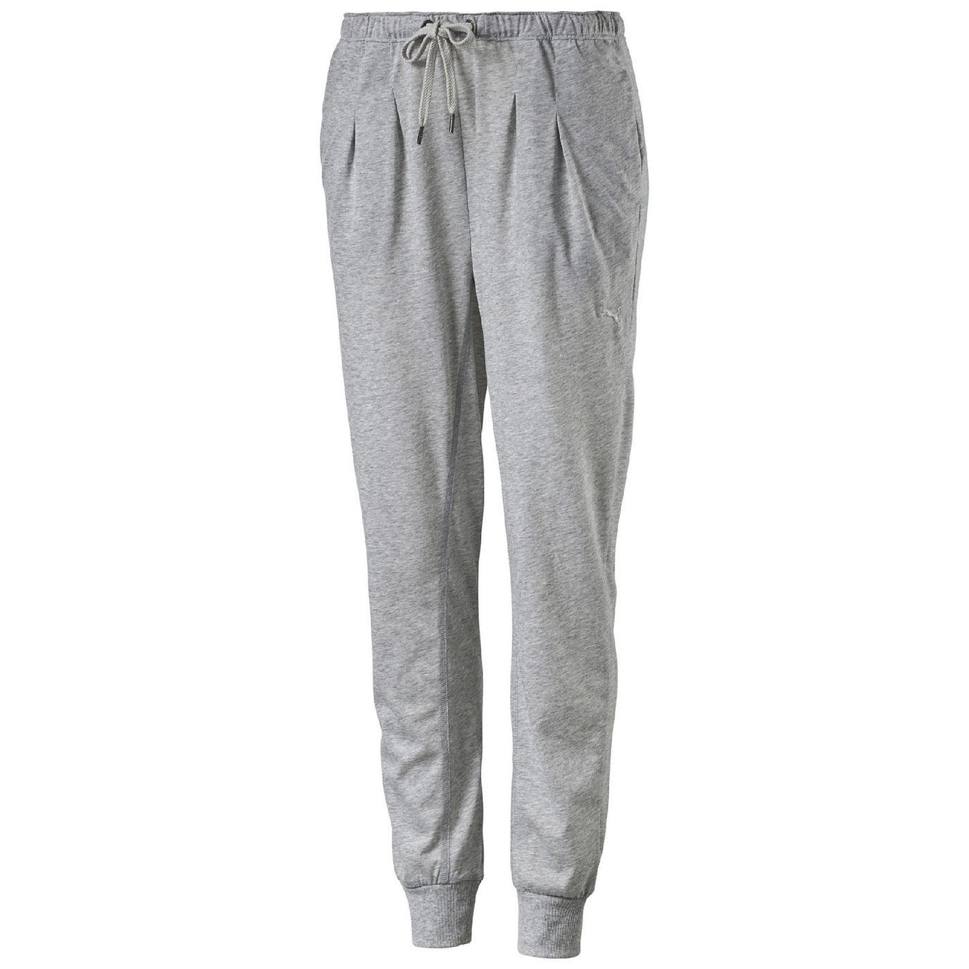 Drapy Hose    Diese komfortable drapierte PUMA-Hose hat ein wunderbares Design und sorgt fuer ein locker-leichtes Tragegefuehl.    Material: 65% Polyester, 35% Baumwolle...
