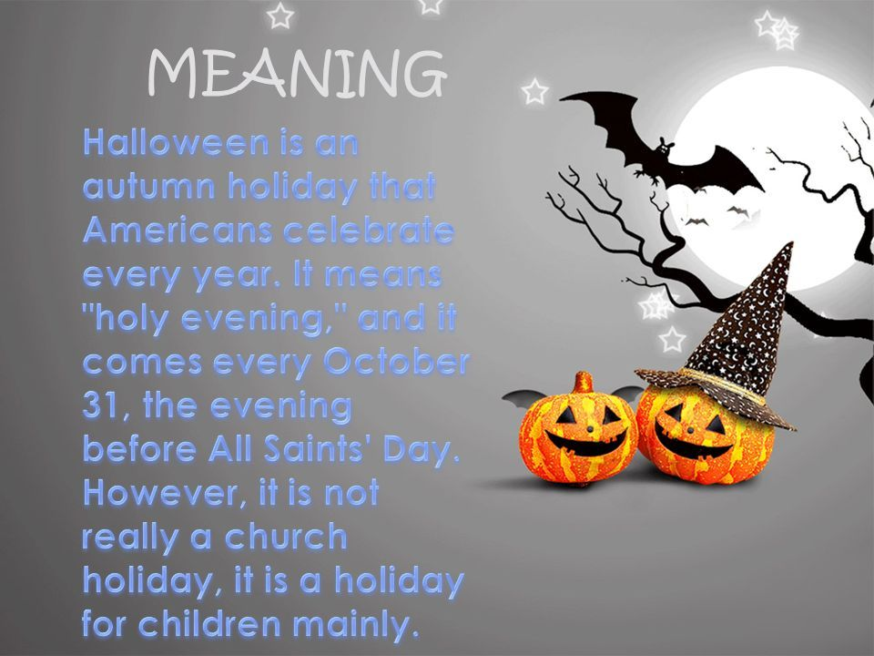 Halloween Meaning Funny Quotes Halloween Meaning Halloween All Saints Day