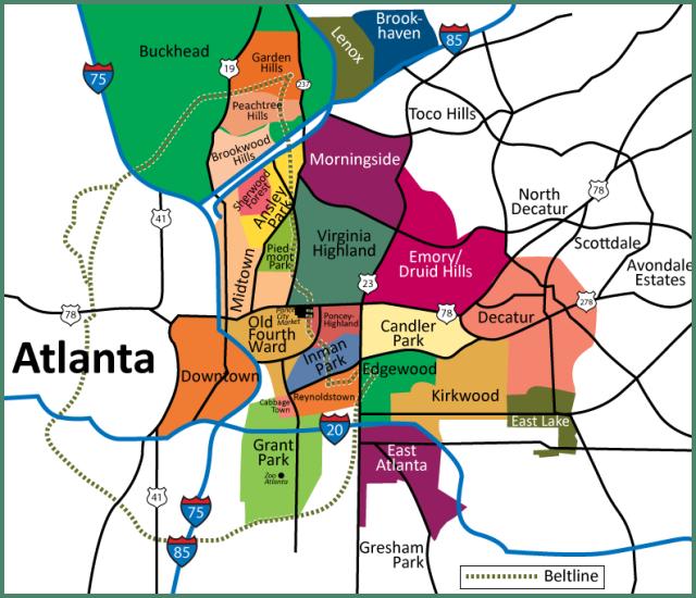 Best 25 Atlanta Usa Map Ideas On Pinterest  Washington