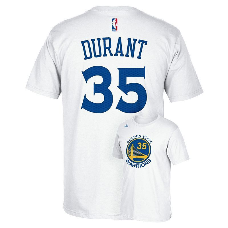 Men's adidas Golden State Warriors Kevin Durant Player Name
