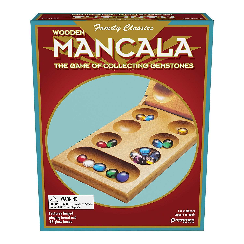 Pressman toy mancala board game folding set toys games