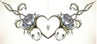 chest tattoo drawings and stencil - Google Search