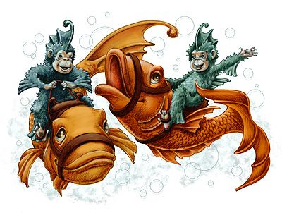 Sea Monkeys. Who believed they were real? i did. Sea