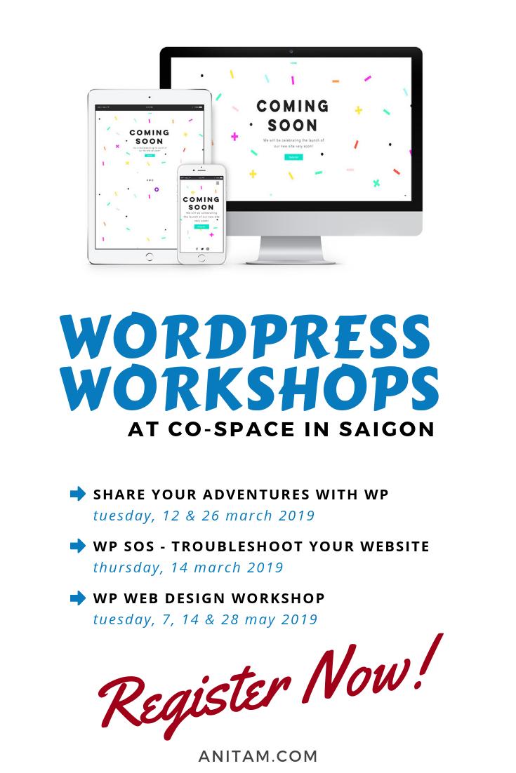 Wordpress Workshops In Saigon With Learn Wordpress Web Design Tips Web Design