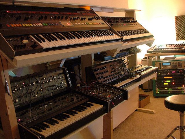 Custom Keyboard Stand Synthesizer Setups Music