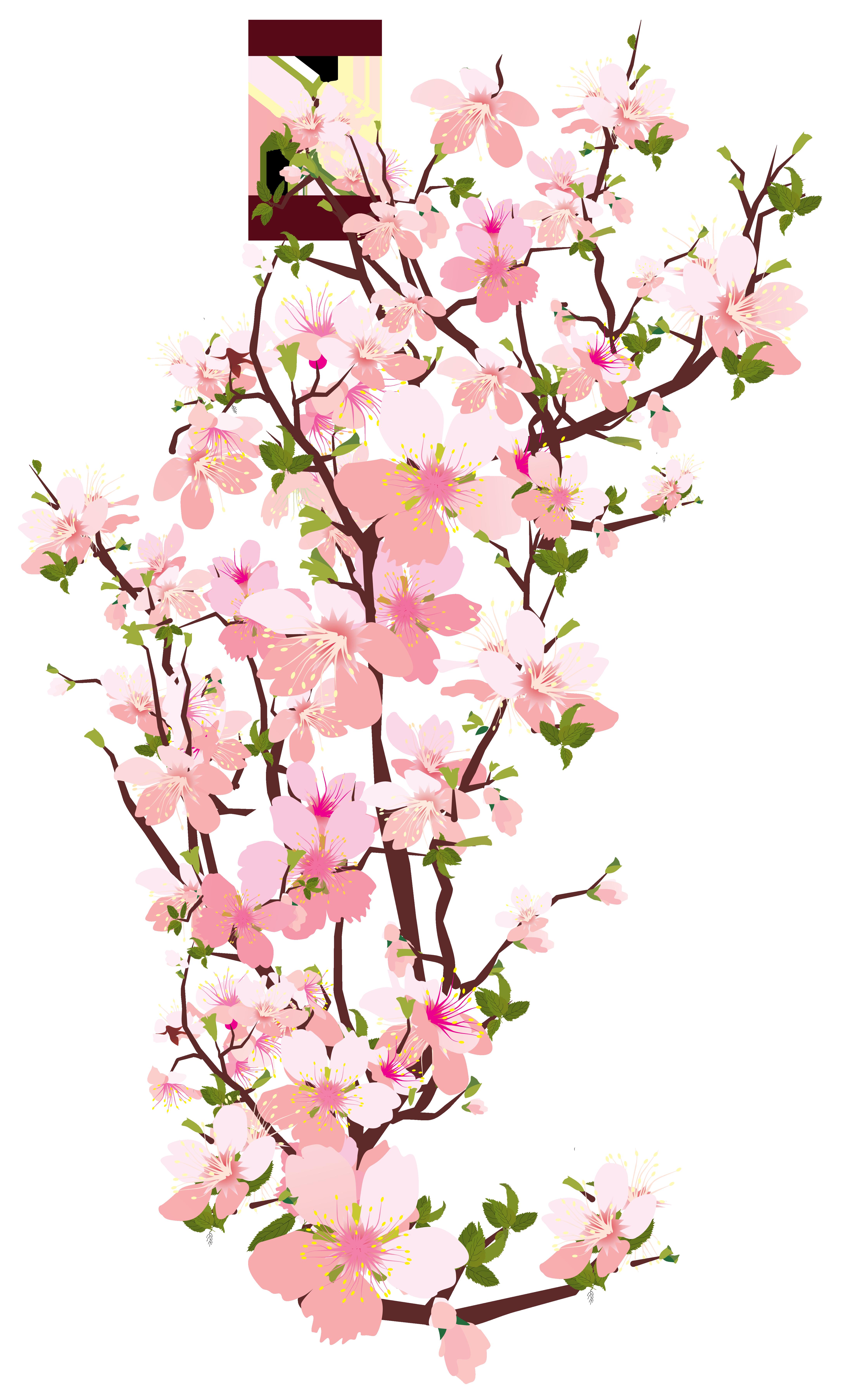 Spring Tree Branch Transparent PNG Clip Art Image | Art ...
