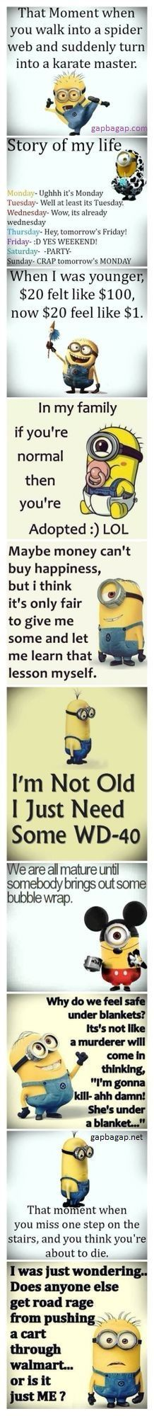Top 10 #Funny #Quotes By The #Minions…
