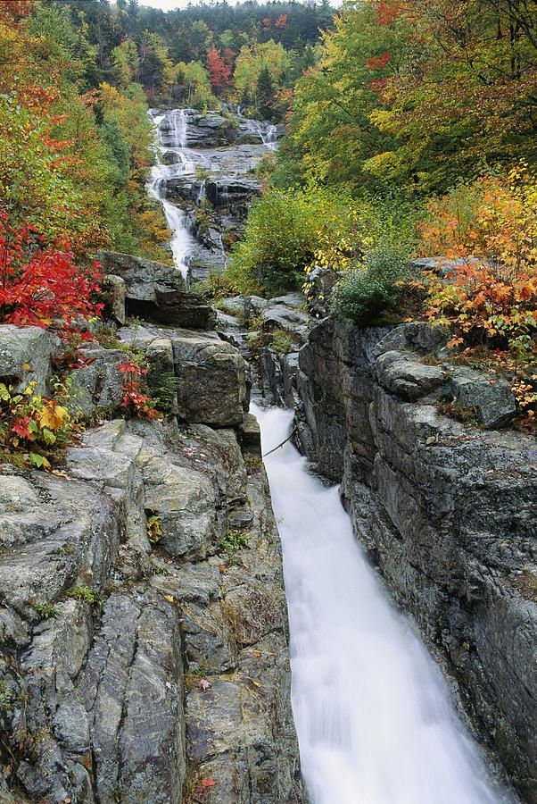 Top 5 Most Beautiful Scenic Places In Usa Cascade Falls Places