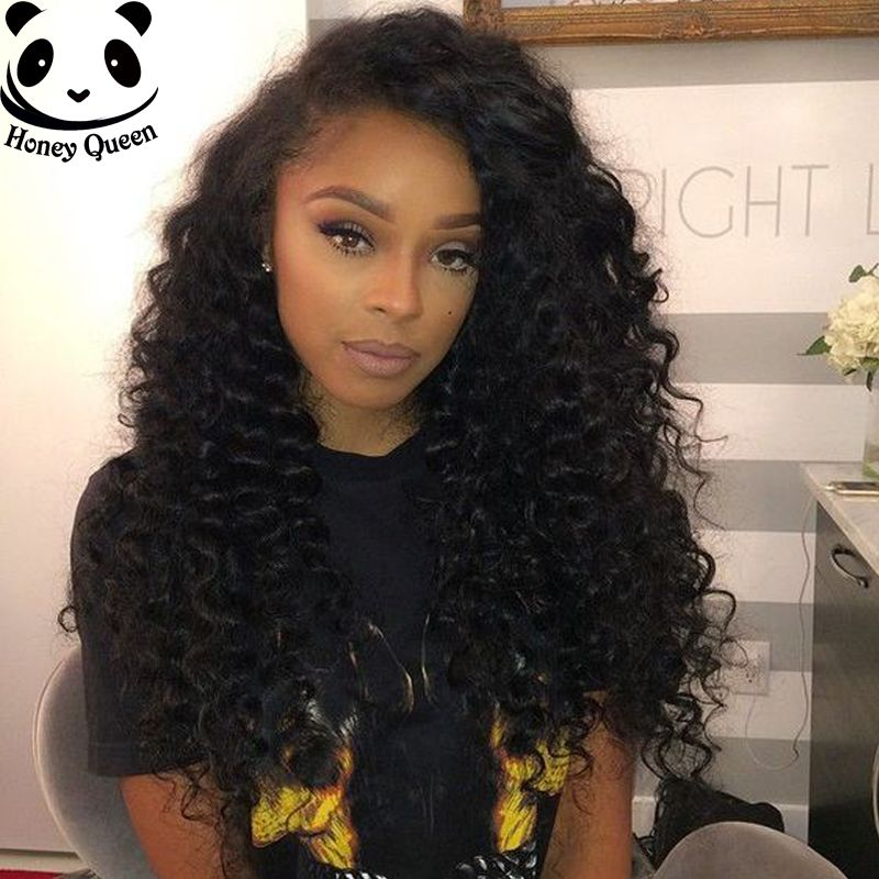 Miraculous Curly Glueless Lace Front Human Hair Wigs 250 Density Deep Curly Schematic Wiring Diagrams Amerangerunnerswayorg