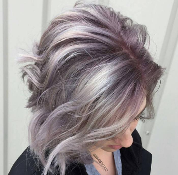 silver violet shadow