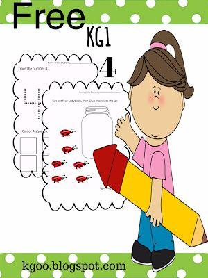 مدونة الحضانة تعليم الارقام للاطفال الروضة Pdf رقم 4 Fictional Characters Character Books