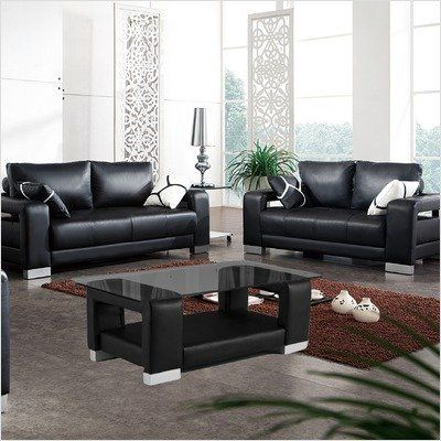 Bundle 13 Contempo Leather Sofa And Loveseat Set 3 Pieces By Tip
