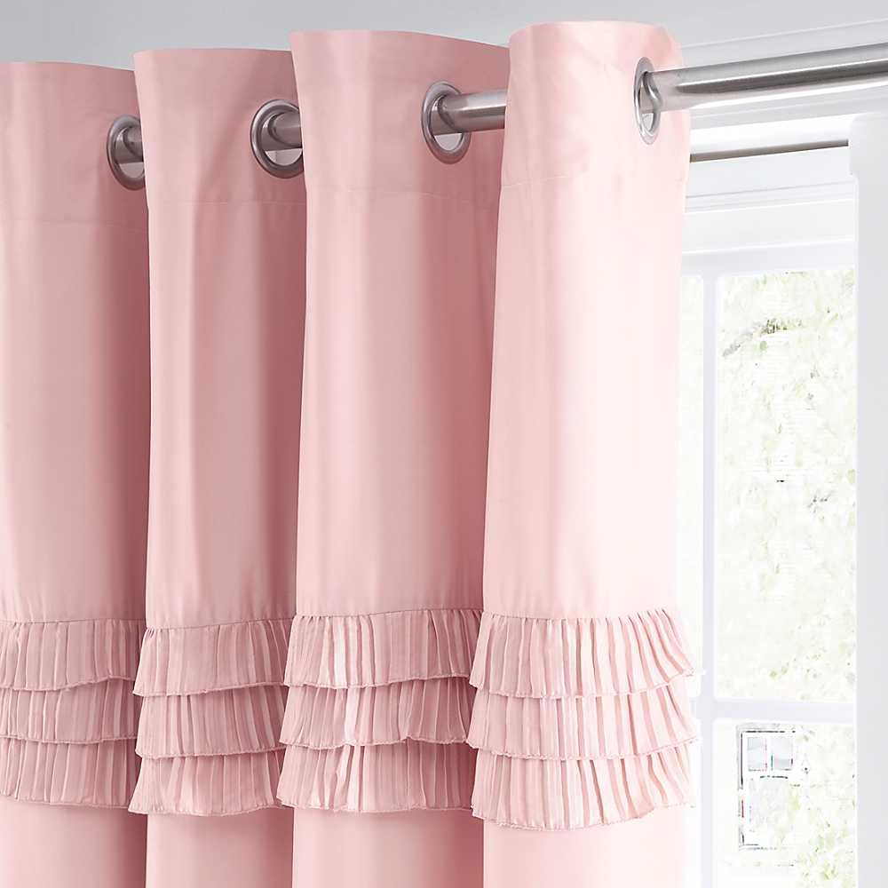 Pink bedroom curtain design - Bedroom Curtains