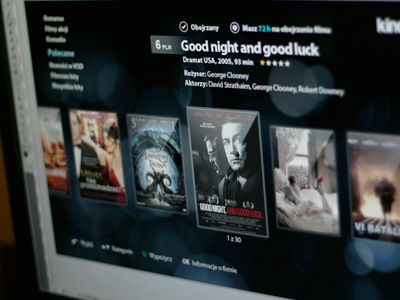 Application, selling movies through TV devices