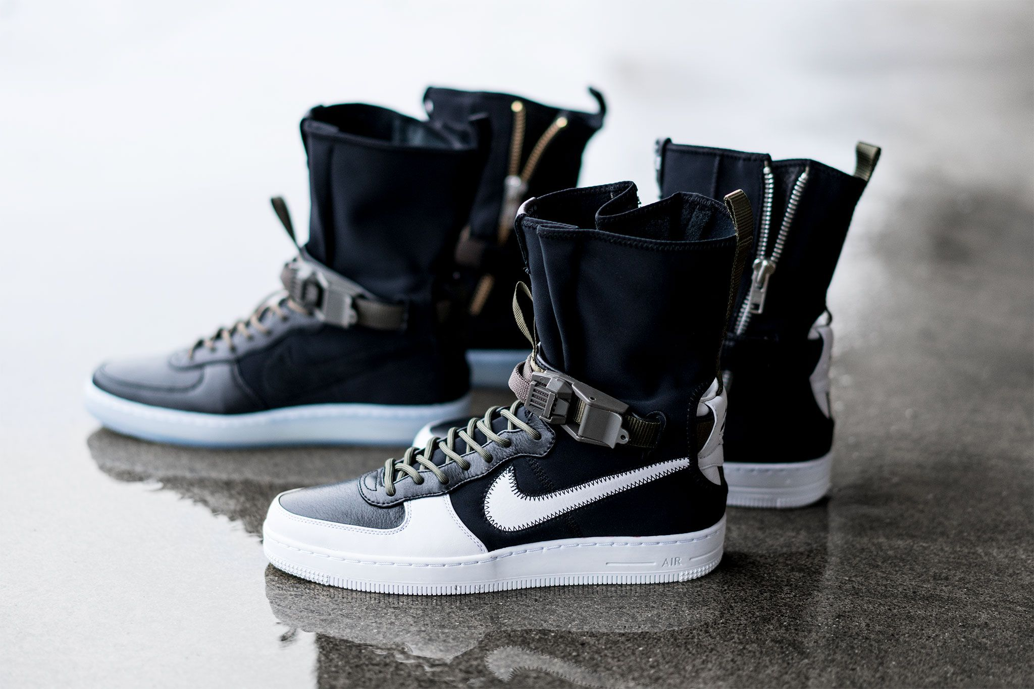 NikeLab x ACRONYM® AF1 Downtown Hi SP | NikeLab and ACRONYM® re-align for  spring / summer 17 on another exclusive iteration of the iconic Air Force 1.