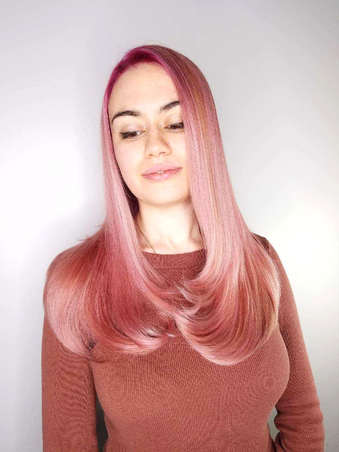 Consultation 0 Working With Your Natural Base And Wearable Vivids Hair Color Pink Pink Hair Velvet Hair