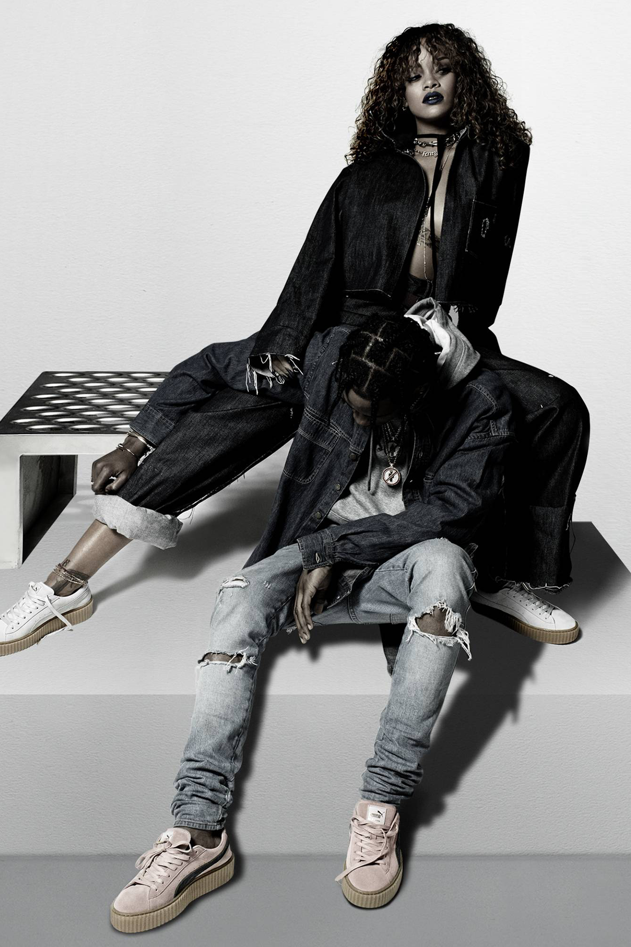 puma rihanna x travis scott