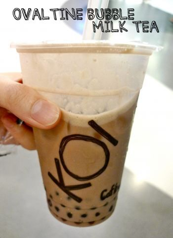 Ovaltine Milk Tea Koi Singapore  My International