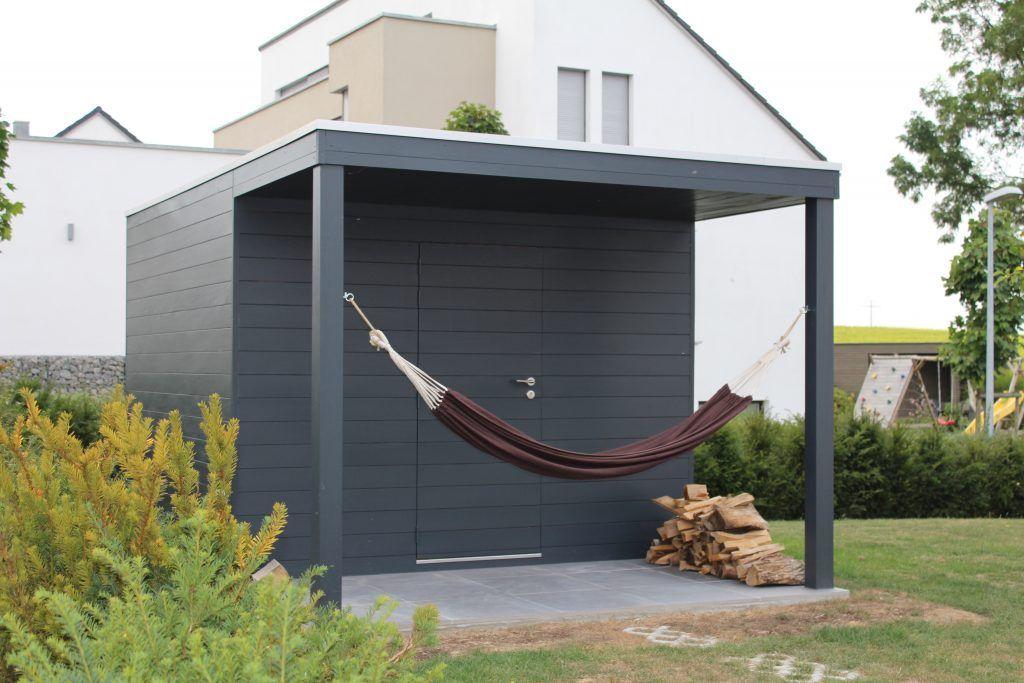 moderne gartenh user gelungene architektur auf kleinem raum ob spitzdach oder flachdach im. Black Bedroom Furniture Sets. Home Design Ideas