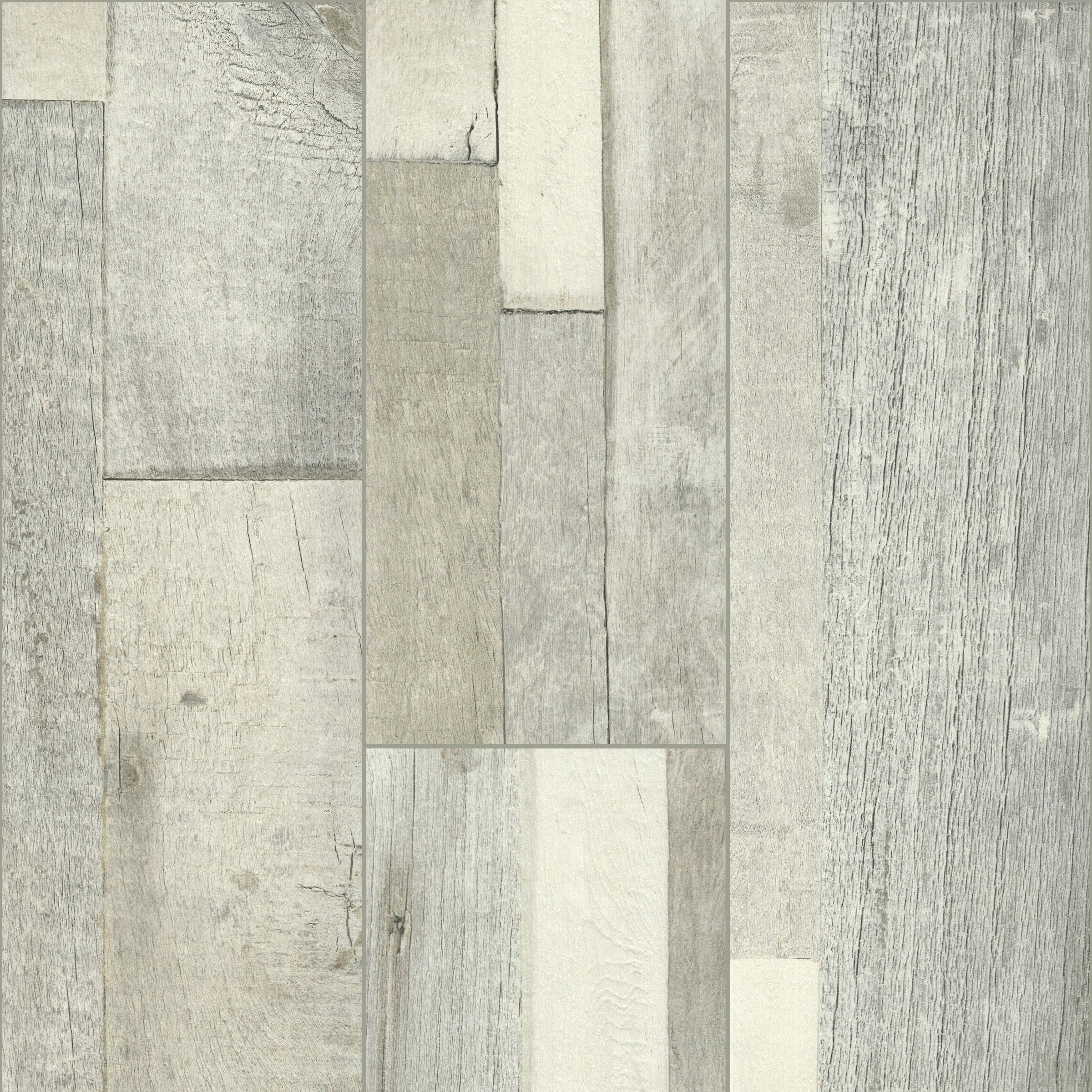 Florim Wood Medley White 8 X 48 Glazed Porcelain Tile