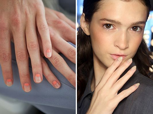 The Bride Nailed It | The Negative Space Nail Art Trend