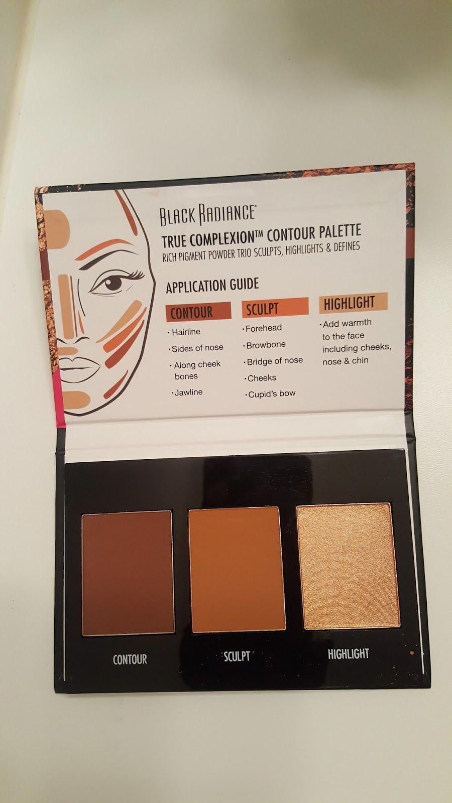 Diva Hauls First Impressions Black Radiance True Complexion Contour Palett Black Radiance Contour Palette Contouring For Beginners Makeup Tips For Beginners