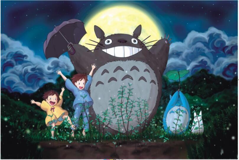 Photo of 1000 Pieces Totoro Cartoon Jigsaw Puzzle – Totoro