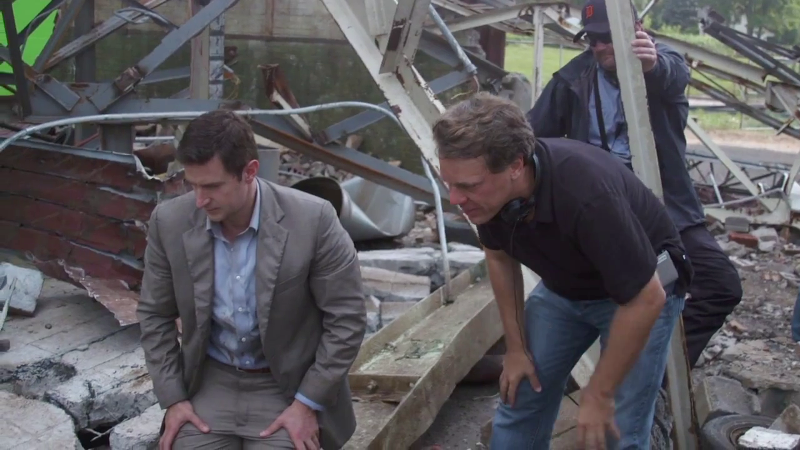 Gary (Richard Armitage)- behind the scenes of Into the Storm