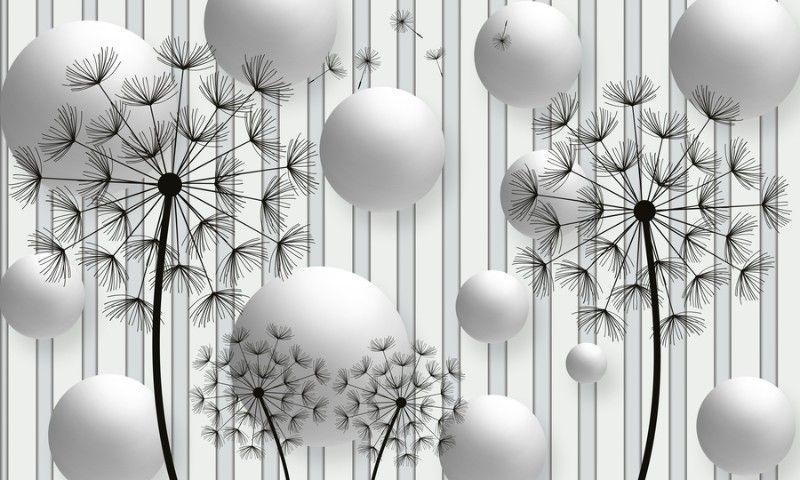 этим постеры абстракция для интерьера в виде шаров ресторана пристань напрямую