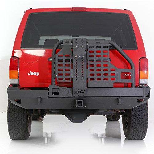 Smittybilt Xrc Rear Bumper And Tire Carrier For Jeep Cherokee Xj