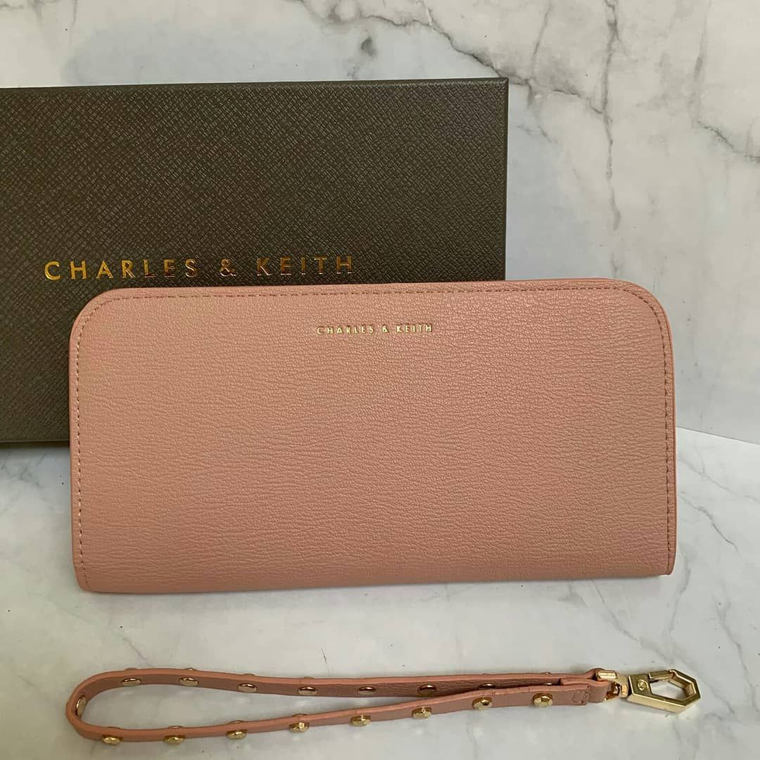 Sale Charles N Keith C513 Idr 195rb Sz 20x10x2cm Colour Pink
