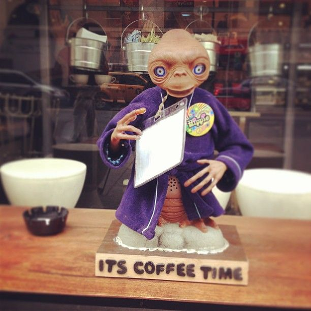 ET intervention at a coffee house. #ET #nyc #newyork #coffeetime