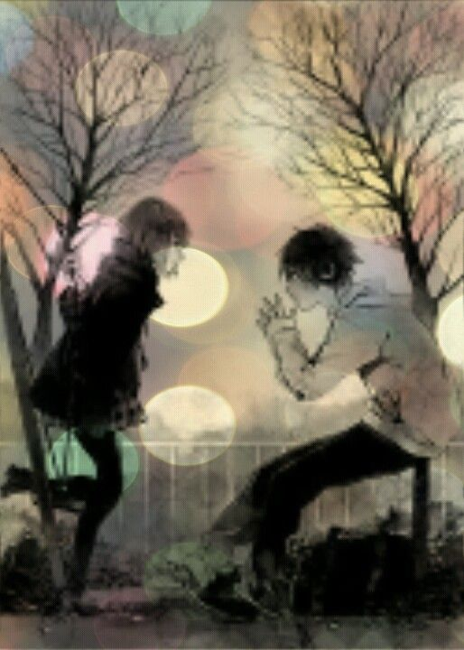 Anime Boy And Girl Edit Anime Boy Anime Painting