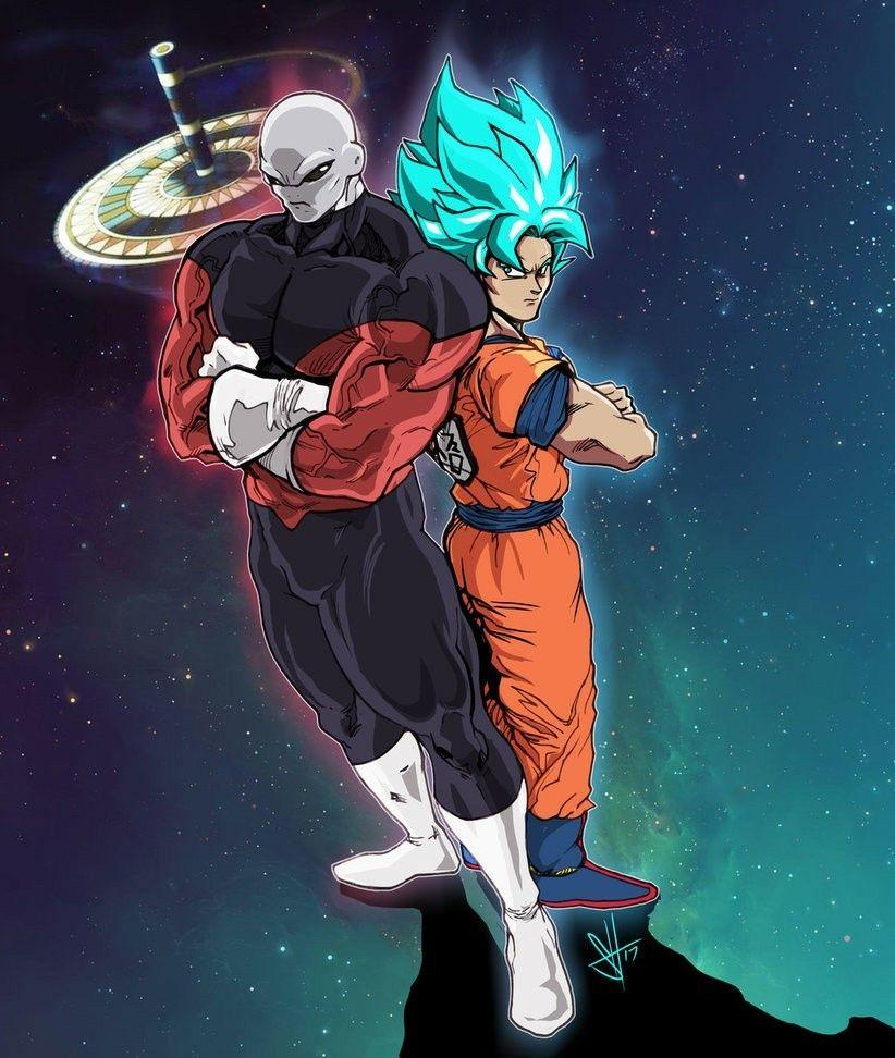 Goku and Jiren | dragón ball | Pinterest | Dragon ball, Dragones y ...