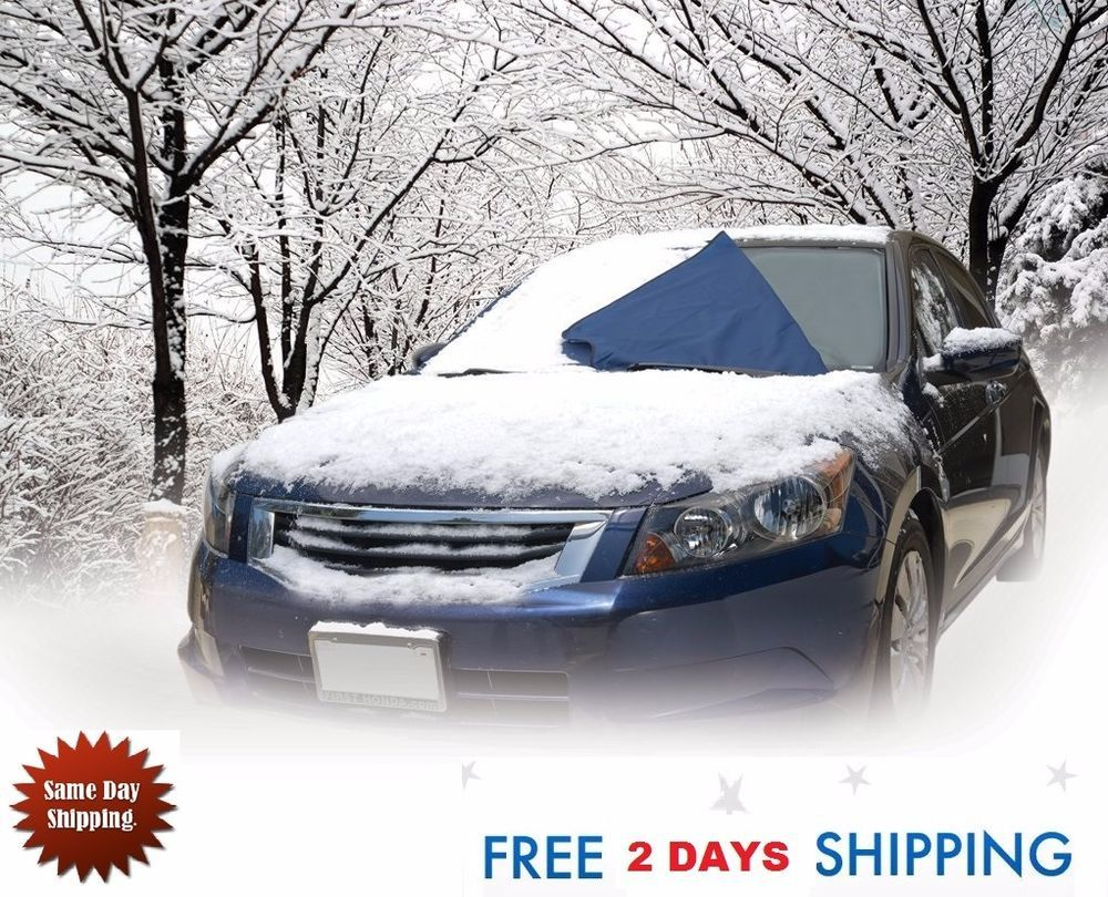 Windshield Snow Cover Auto Expressions Winter Warrior FREE