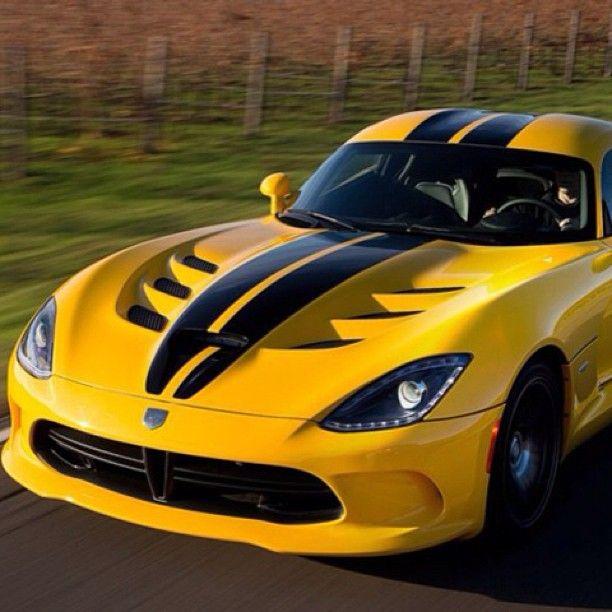 Cool Srt Viper Dodge Viper New Supercars Super Cars