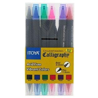 Itoya Doubleheader Calligraphy Pen Set Shop Hobby Lobby Calligraphy Pen Set Pen Sets Art Craft Store