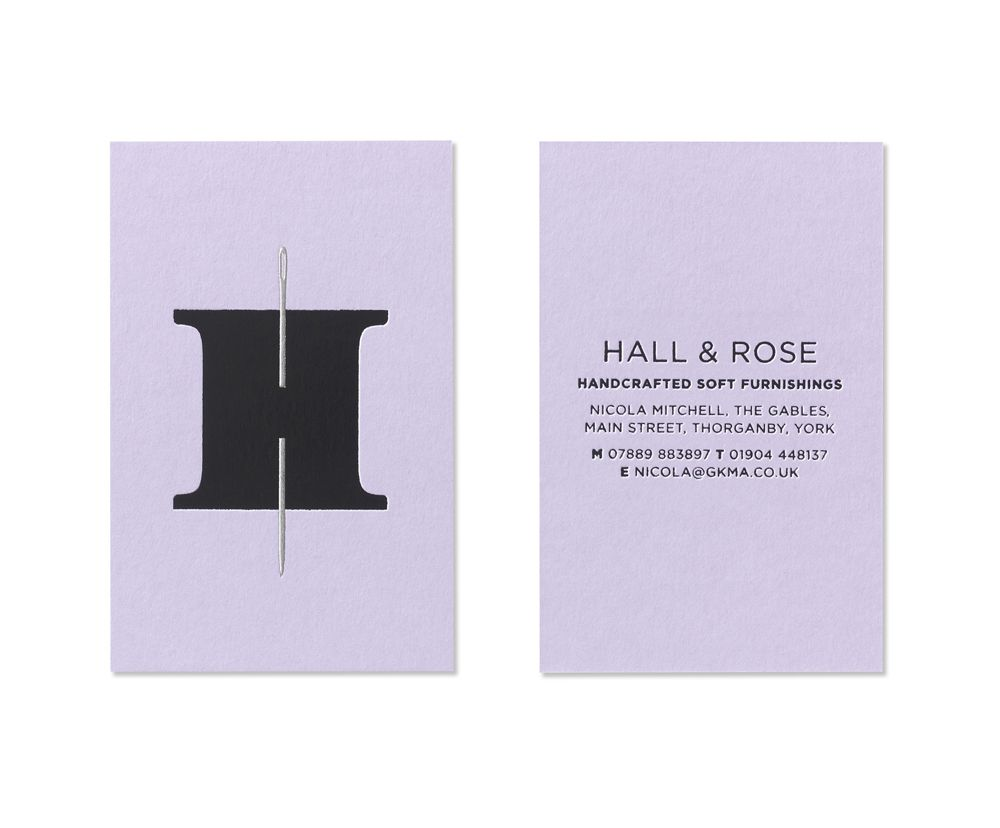 Awesome logo for hall rose a company making soft furnishings by awesome logo for hall rose a company making soft furnishings by hand designed by uk firm elmwood reheart Choice Image
