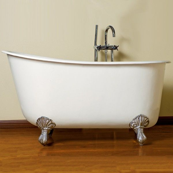Cambridge Pluming Cast Iron Swedish Slipper Tub X W/ No Faucet The One Of  The Most Fashionable Style Cast Iron Claw Foot Tubs, Is The Perfect S