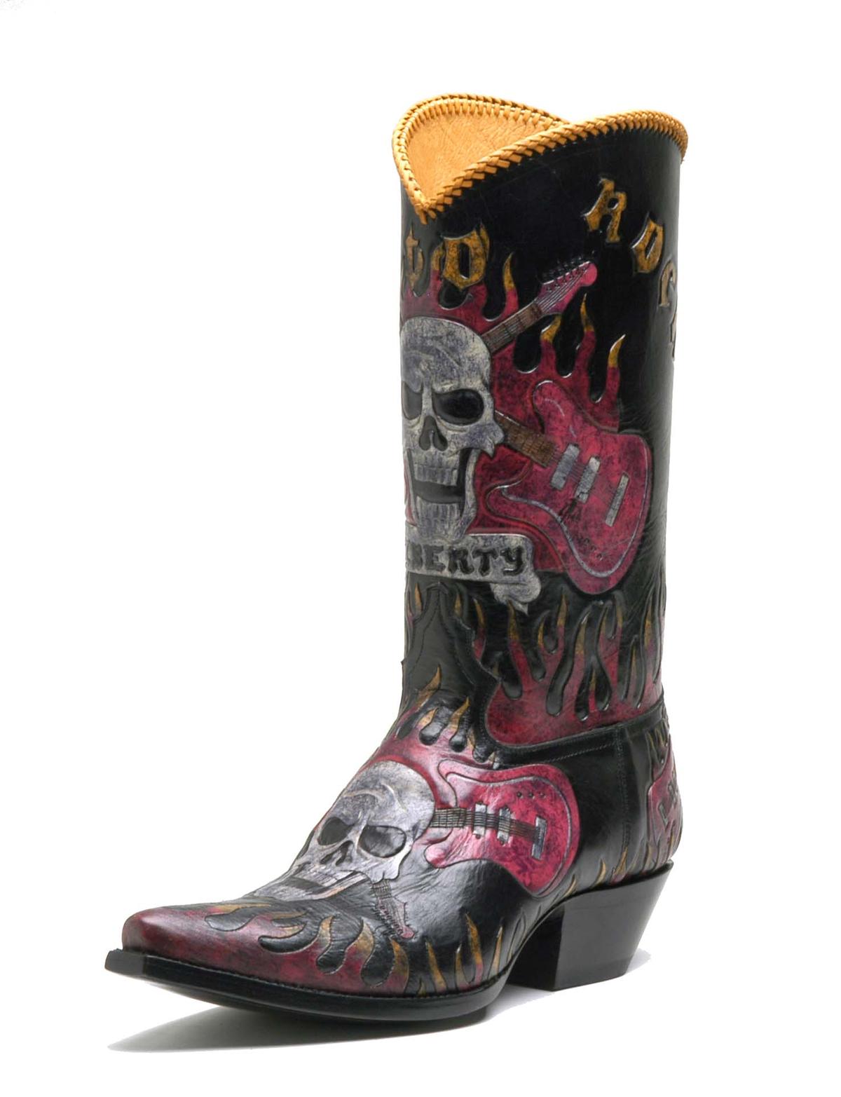Boots, Custom cowboy boots, Liberty boots