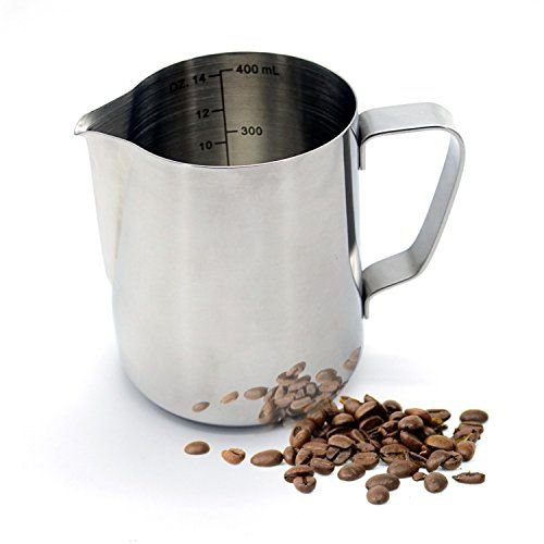 Warmoor Stainless Steel 14 Ounce Milk Frothing Pitcher