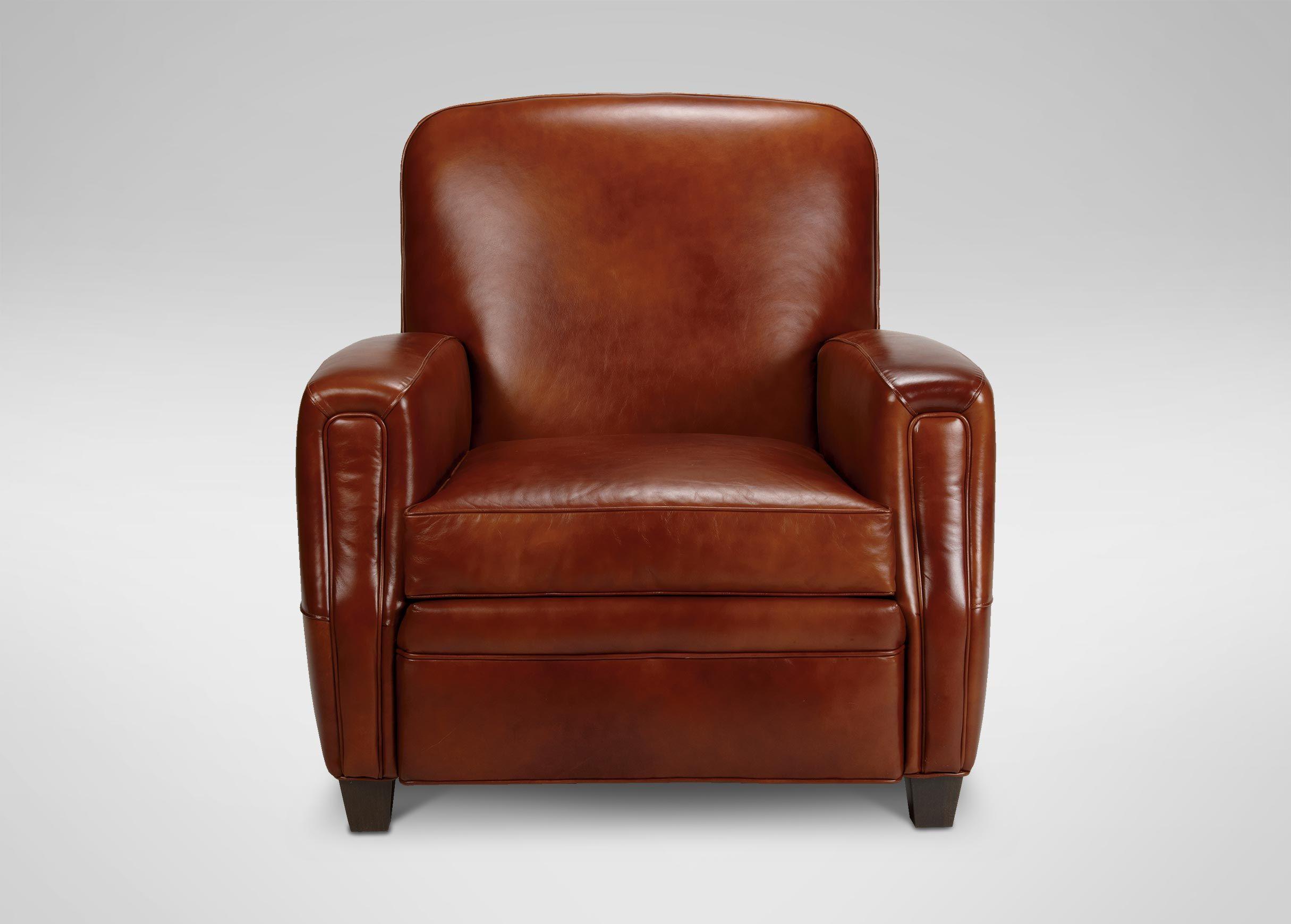 Dean Leather Chair   Leather chair, Leather club chairs
