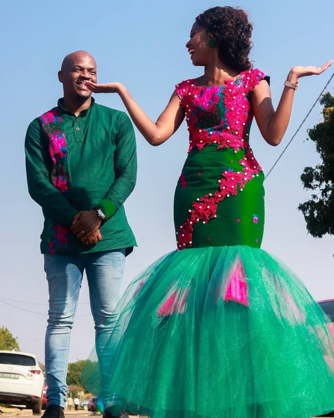 African Fashion African Traditional Dresses South African Traditional Dresses African Traditional Wedding Dress [ 1350 x 1080 Pixel ]